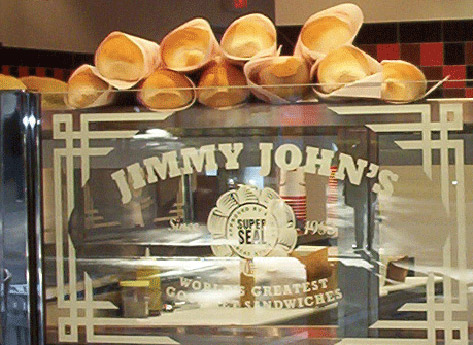 Jimmy John's – Day-old bread for $0.45 cents